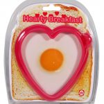 heart shaped egg mould