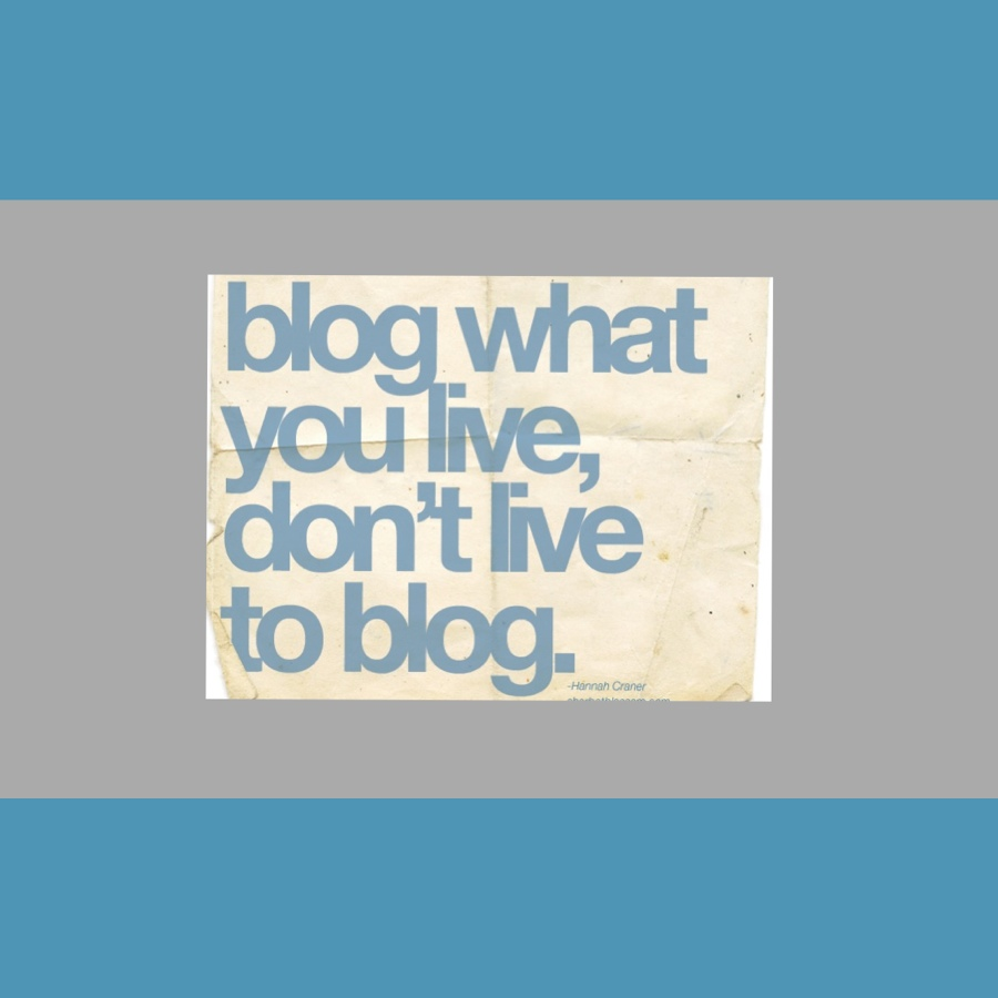 Don't be a follow-whore and other blogging lessons learnt