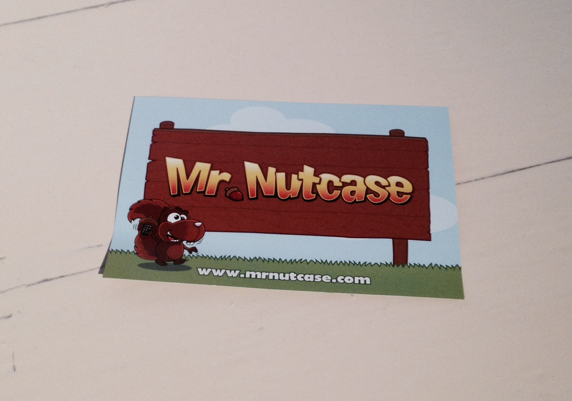 *Mr Nutcase Personalised Phone Cover Review