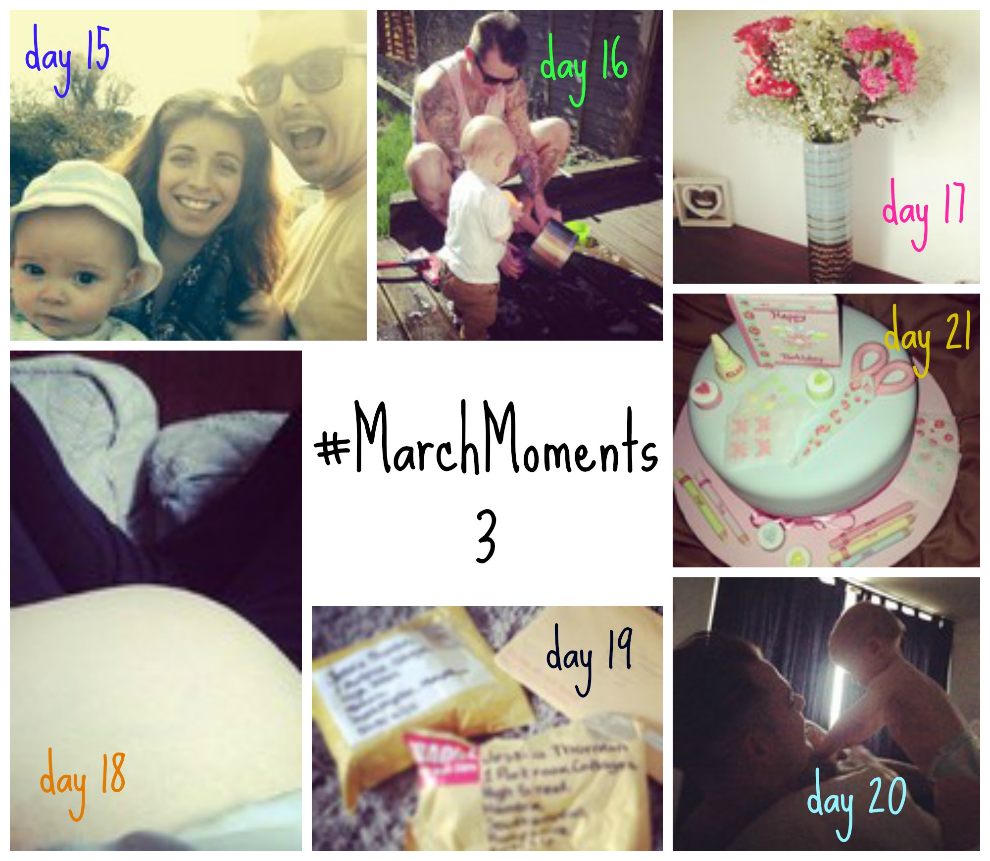 #MarchMoments No3