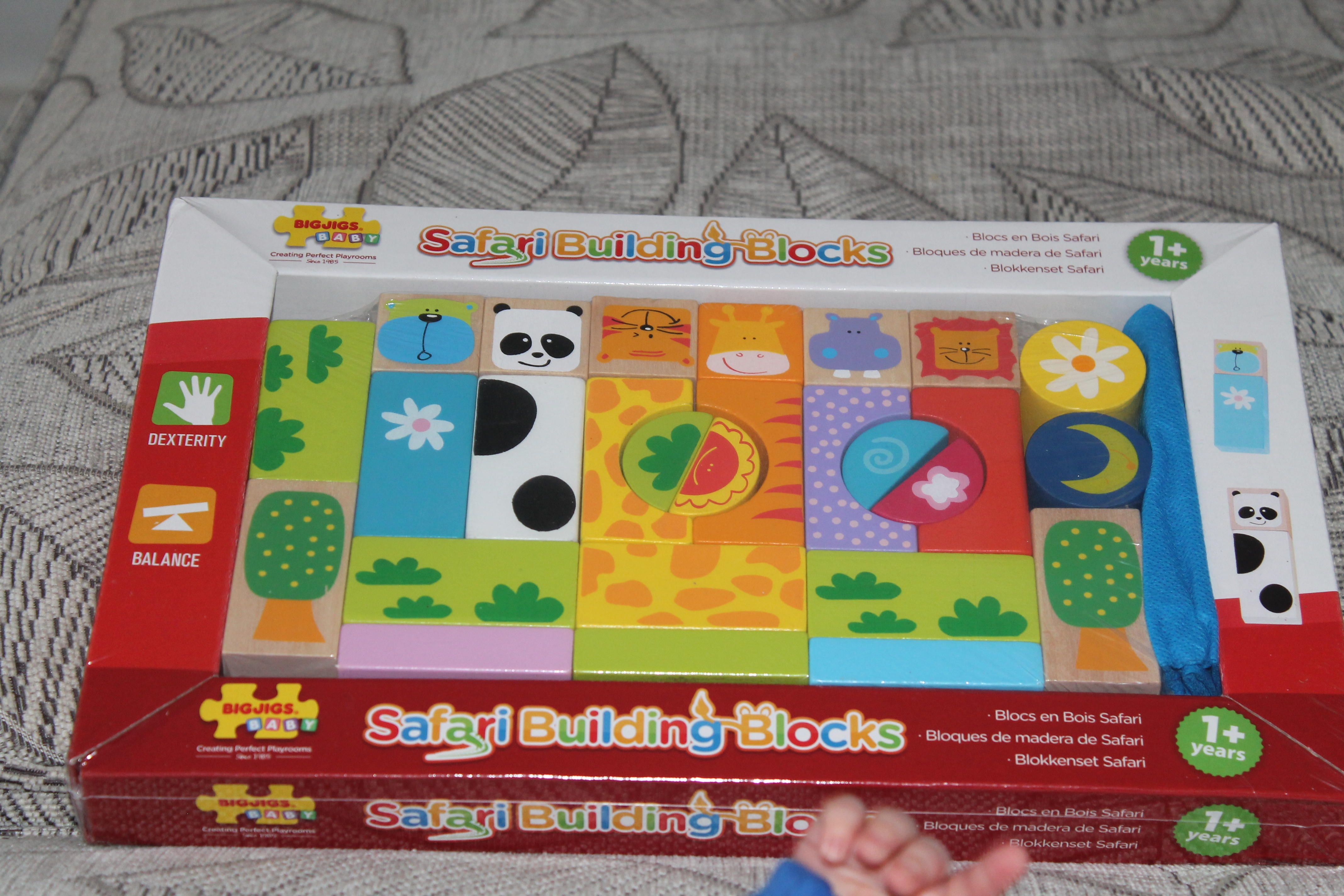 Rabbit and Monkey put fun to the test with Bigjigs toys