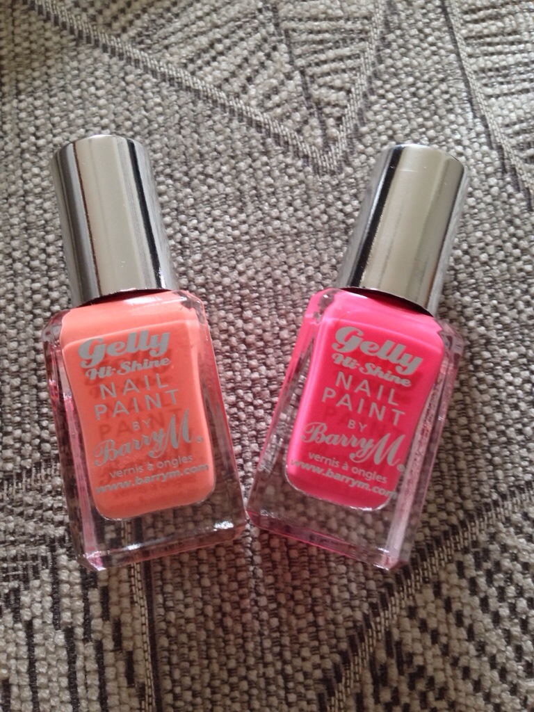 Gelly Hi Shine by Barry M- not for me!