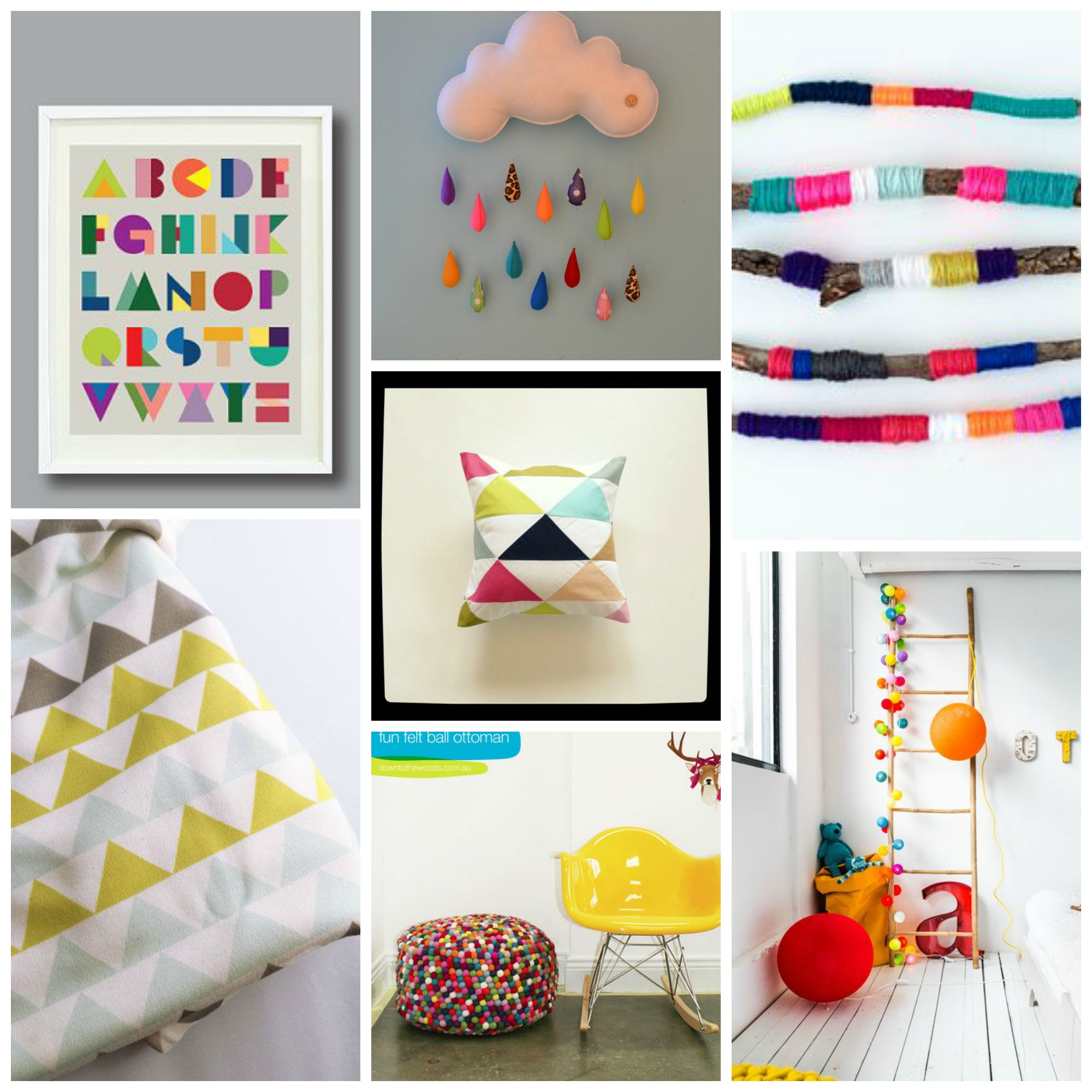 geometric colour pop