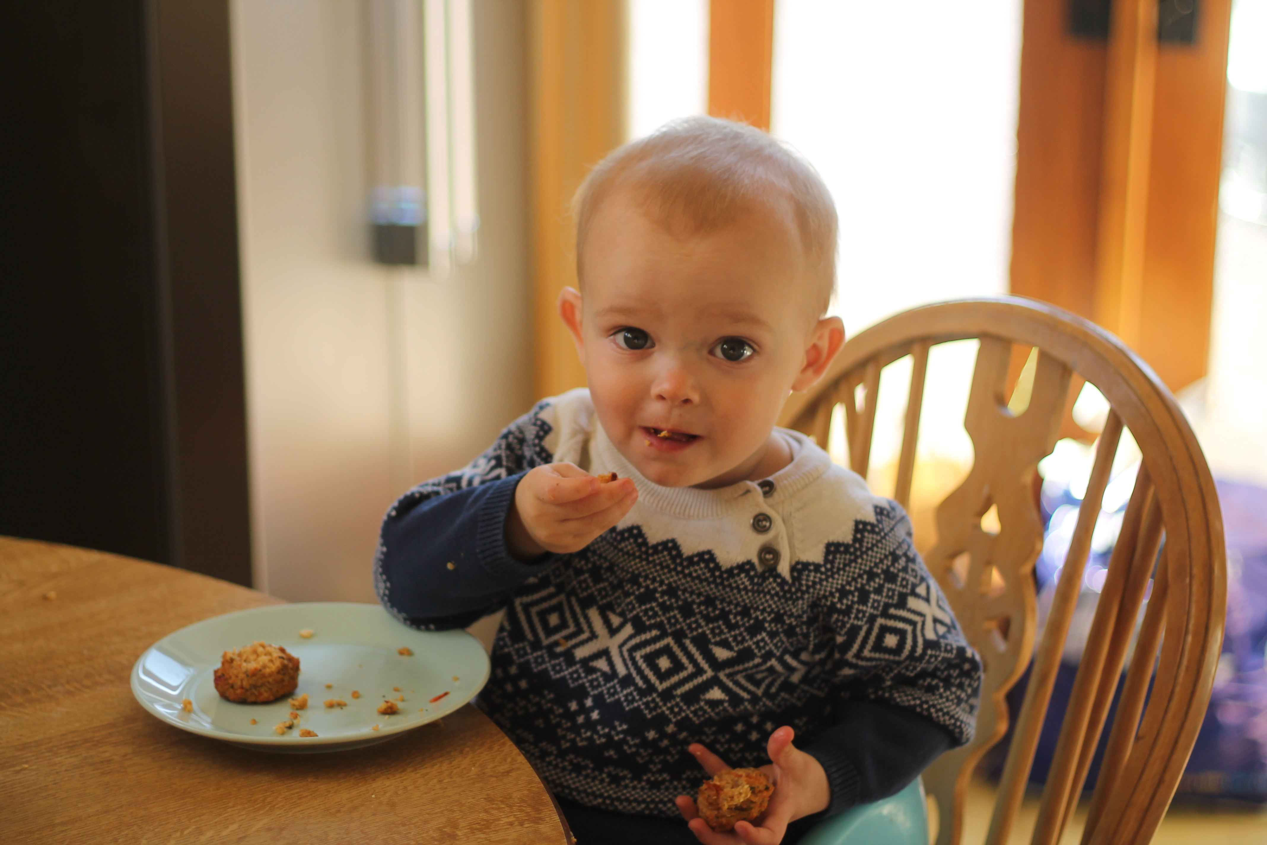 Baby led weaning with Babean