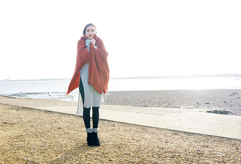 Winter Layering with Zara and H&M