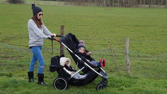 Phil&Teds Voyager Stroller Review