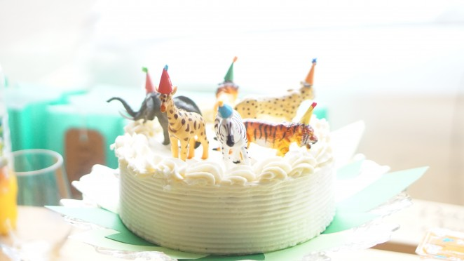 A safari birthday party