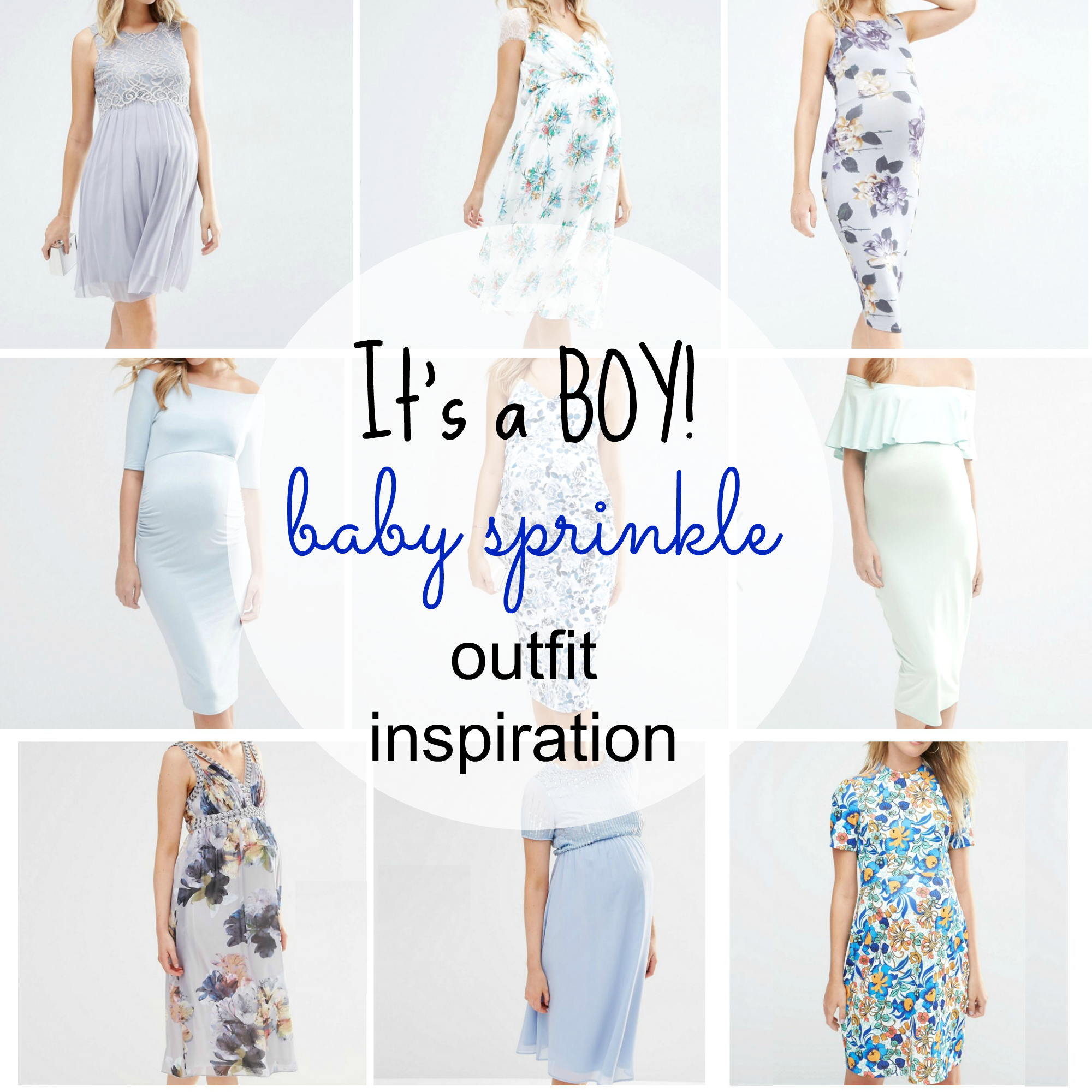 It's a boy – Baby Sprinkle Outfit inspiration