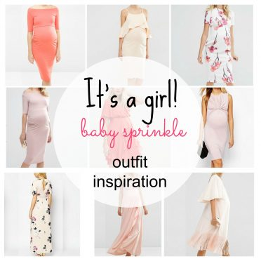 It's a girl – Baby sprinkle outfit inspiration