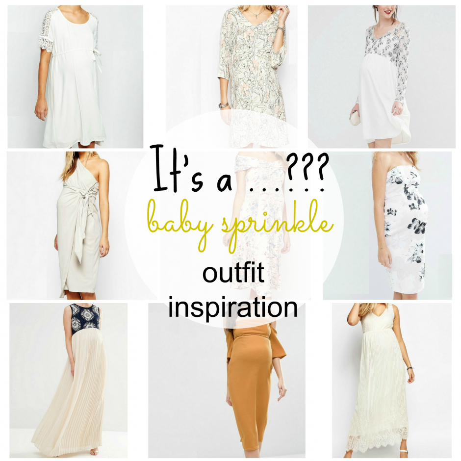 It's a …??? Baby Sprinkle Outfit Inspiration