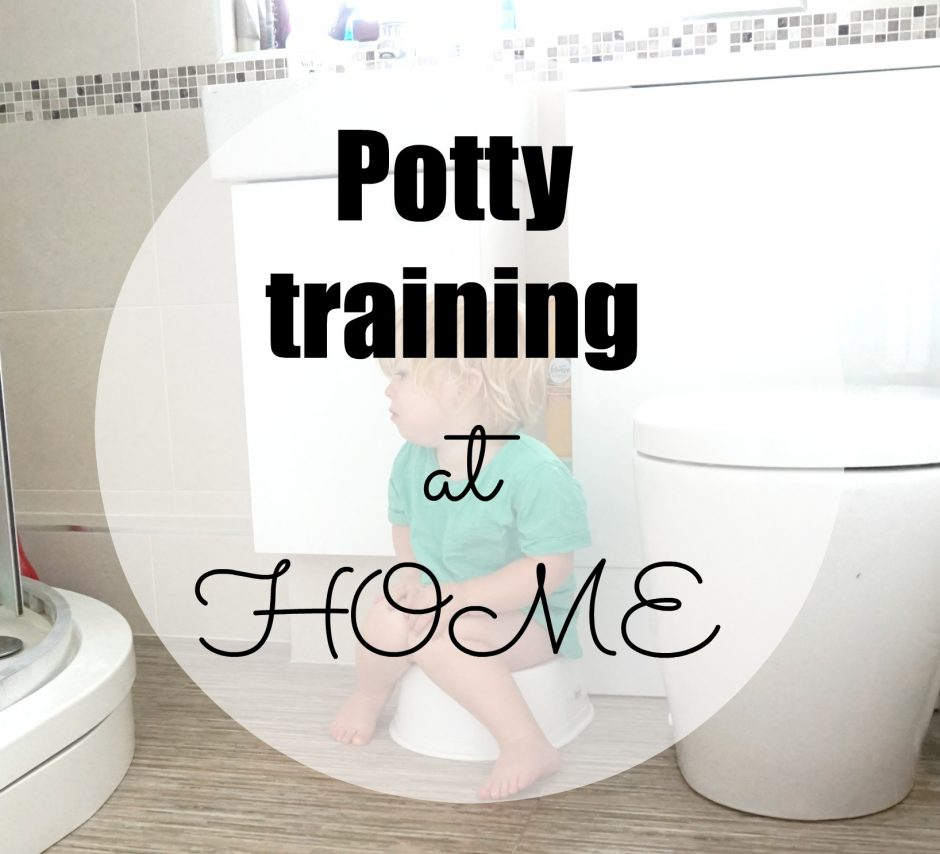 How to start potty training – at home