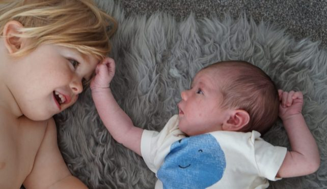 Jasper the big brother – letting my baby go