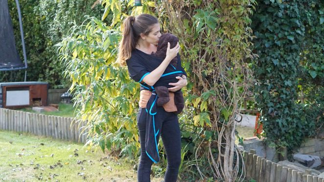 35ef616a9e3 Baby wearing with we made me - Pao carrier and Wuti wrap