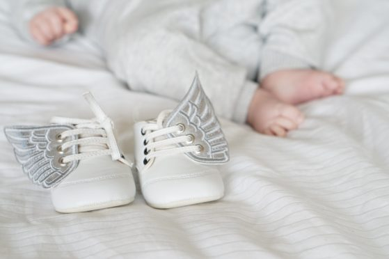 Personalised baby shoes giveaway