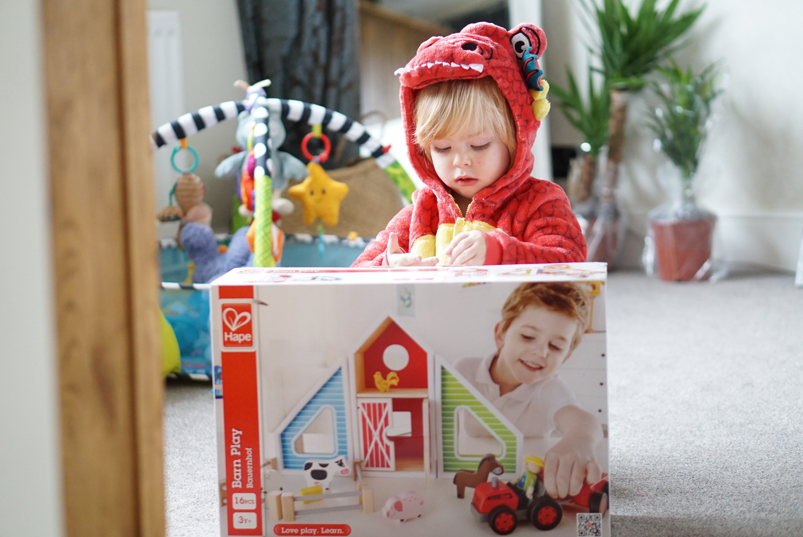 Hape Barn Play giveaway