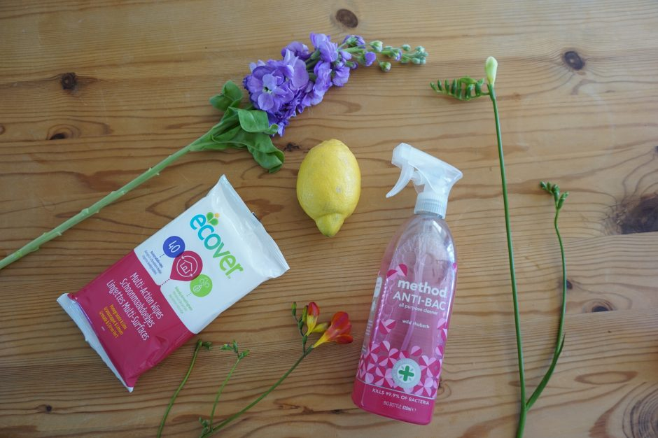 Switching to a chemical free home – cleaning products