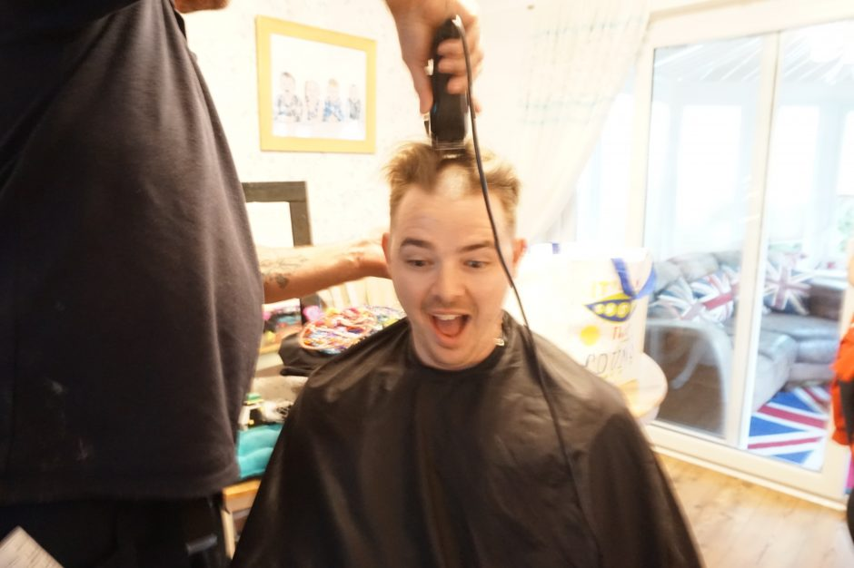 He Braved The Shave