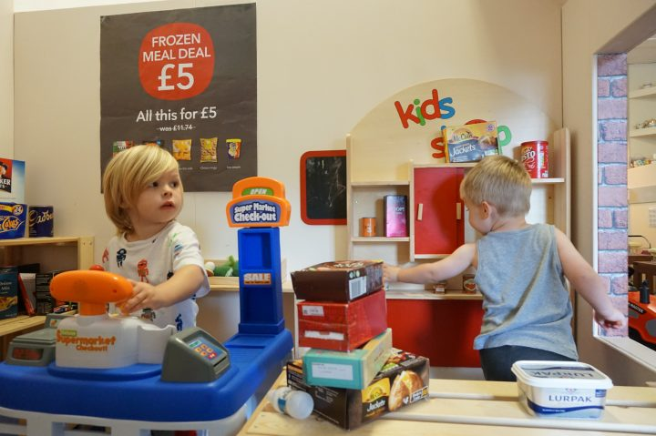 Role Play fun at Tots City