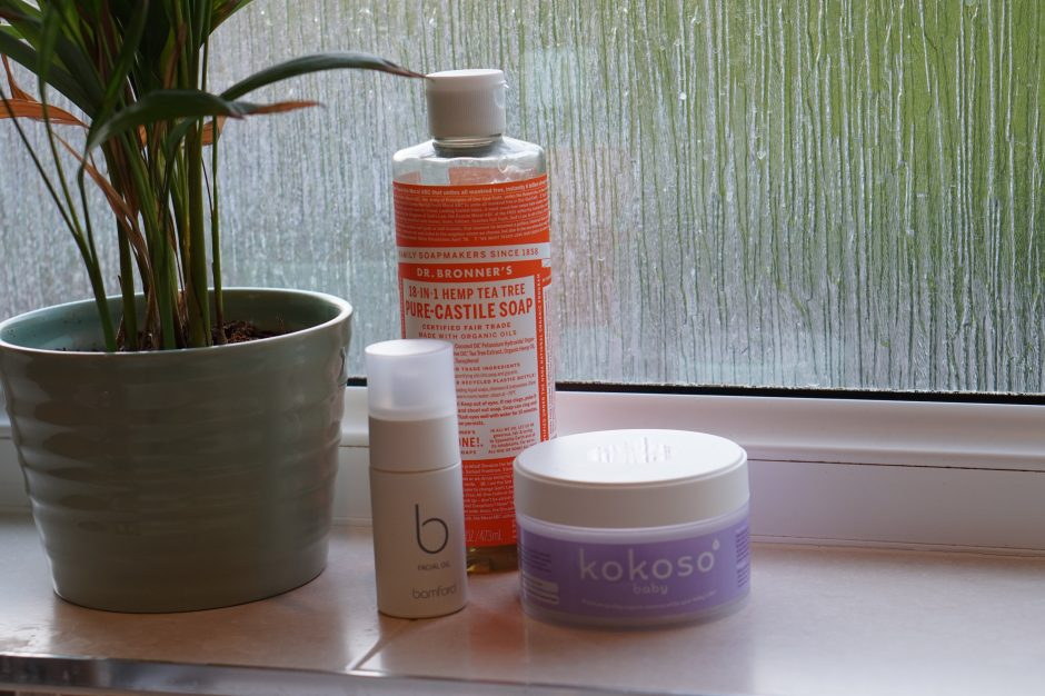 All natural skincare routine