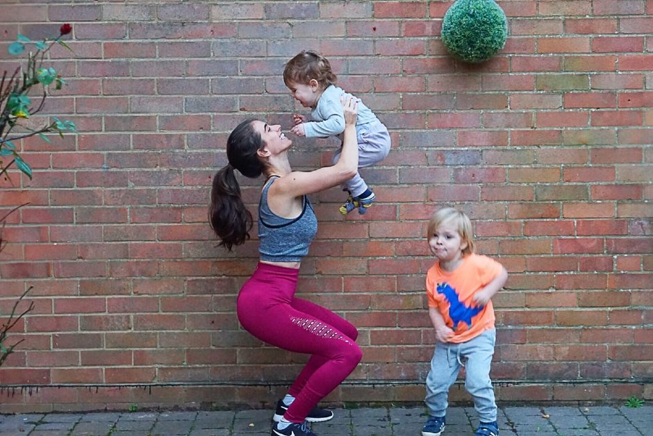 Maintaining fitness with kids?*