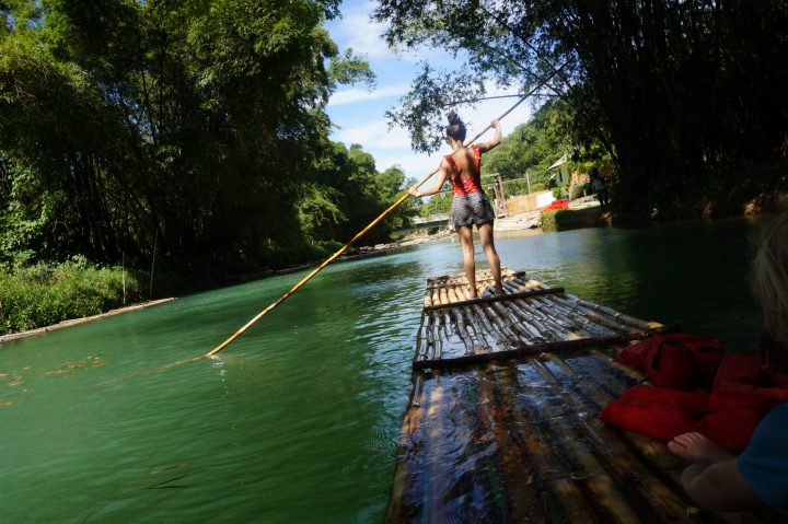 MARTHA BRAE RIVER RAFTING IN JAMAICA WITH KIDS